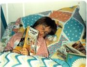 Rachel Reading a Book