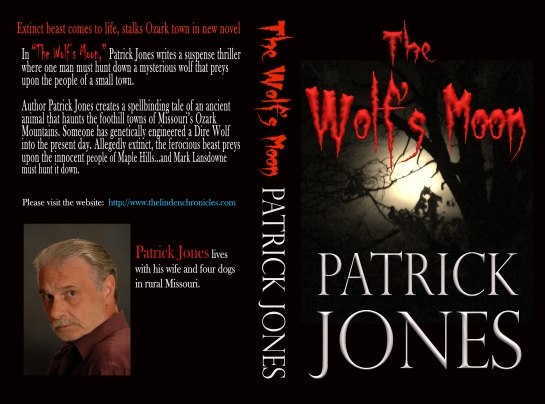 Final Book Cover The Wolf's Moon by Patrick Jones