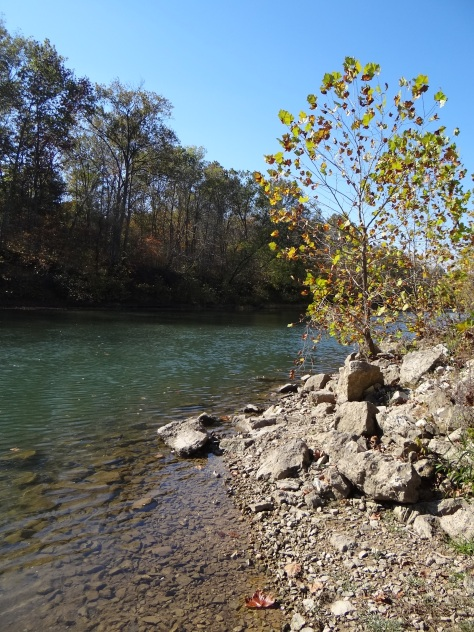Fall in the Ozark Mountains of Missouri