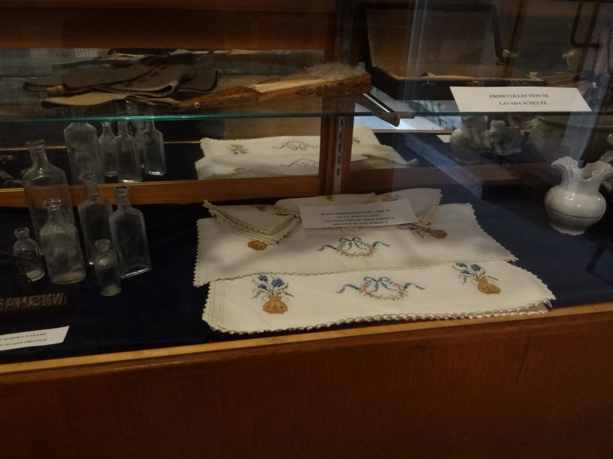Vintage items from The Harney Mansion Booksigning for The Wolf's Moon by Patrick Jones