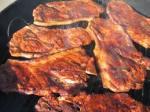 pork steaks barbeque