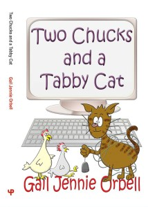 Two Chucks and a Tabby Cat by Jennie Orbell