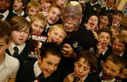 The Scary Guy with UK kids
