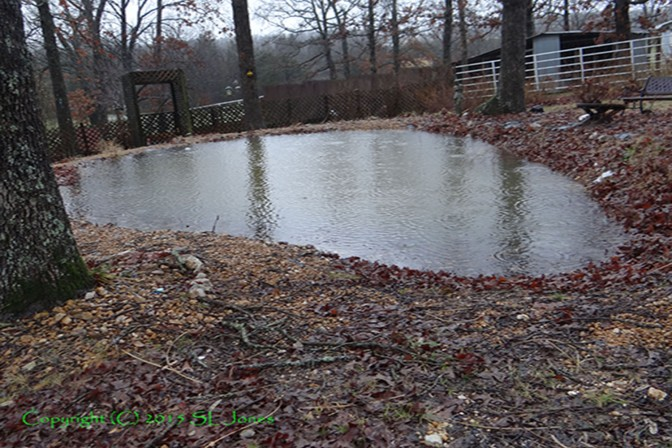 "You May Remember ""The Pond that DIDN'T Hold Water"" video? SURPRISE…it's FULL NOW!"