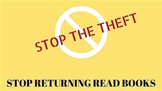 Petition Amazon to stop letting people return ebooks after 15% read!